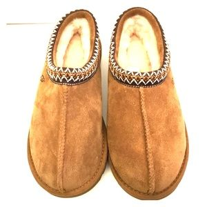 NEW UGG Tasman Women's Cozy Brown Slipper Shoes